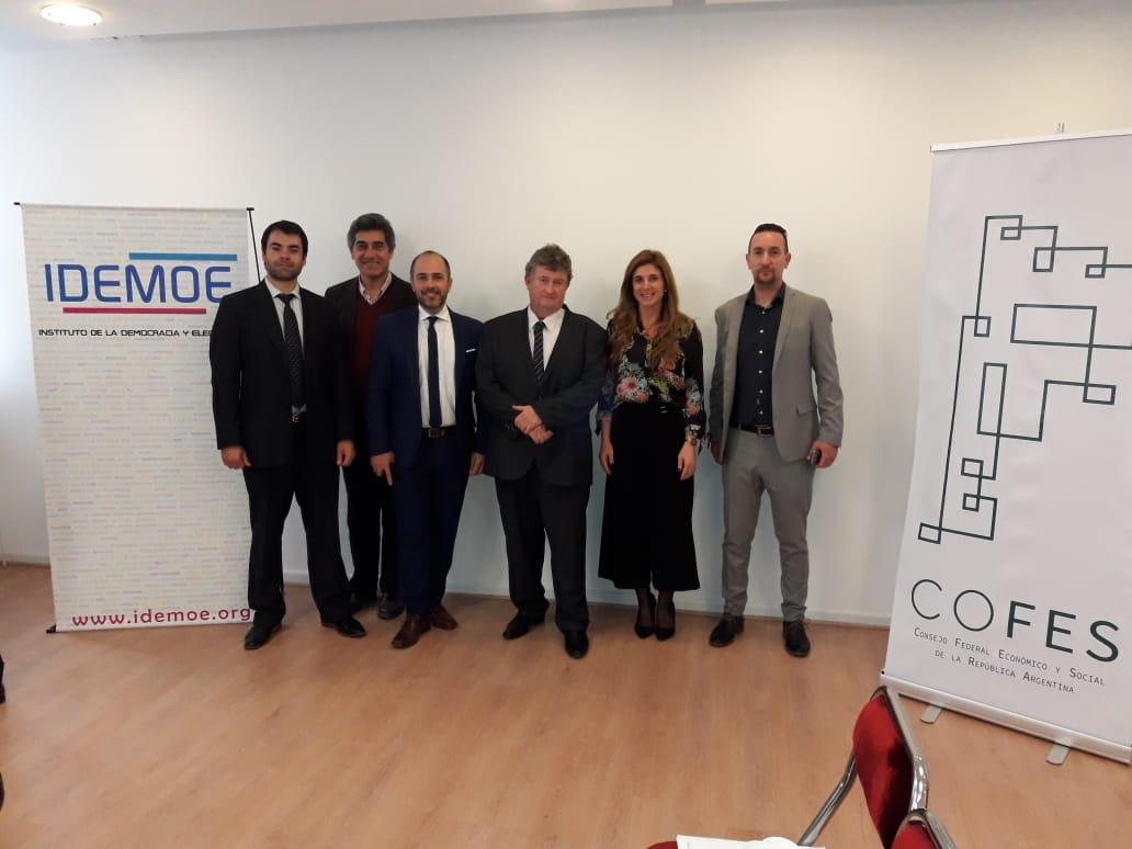 CM4MekzS - IDEMOE firma Convenio con el Consejo Económico y Social del Chaco 27 agosto, 2018