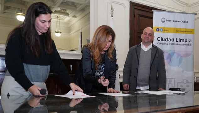 """ciudad limpia campaña electoral - Idemoe suscribió el Compromiso """"Ciudad Limpia, Campaña Electoral responsable"""" 18 julio, 2019"""