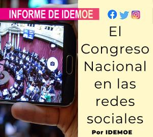 El congreso nacional en redes sociales