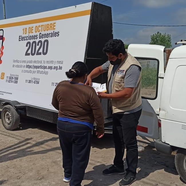 IDEMOE % - IDEMOE Observará el voto en el exterior en las Elecciones Generales 2020 de Bolivia en Argentina 17 octubre, 2020