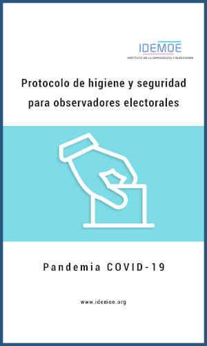 Protocolo Observacion electoral Pandemia Covid 19