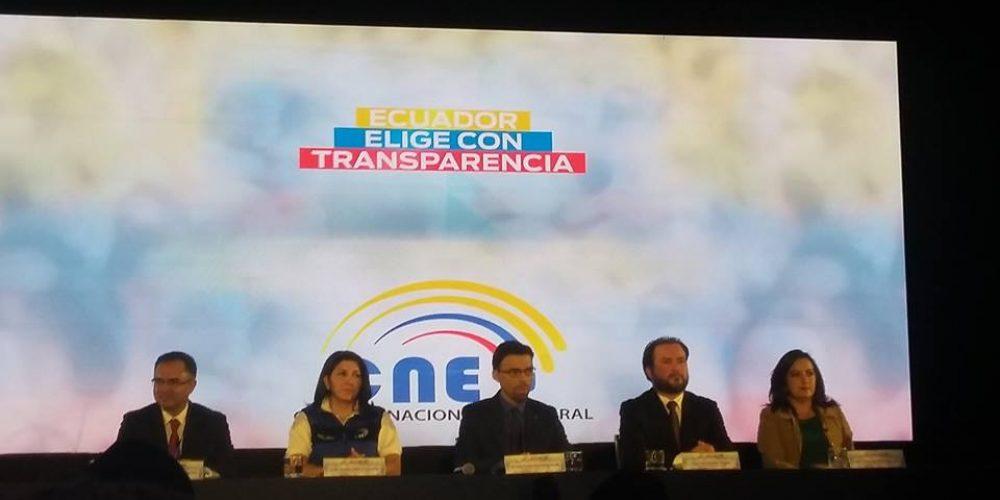 Idemoe observó elecciones en Ecuador