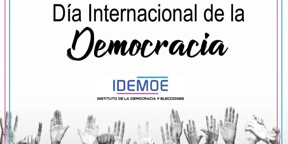 Conmemoramos el Día Internacional de la Democracia