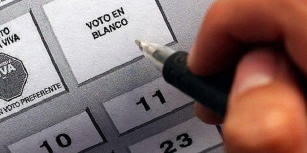 ¿Cómo se computa el voto en blanco para las elecciones presidenciales del próximo 25 de octubre?