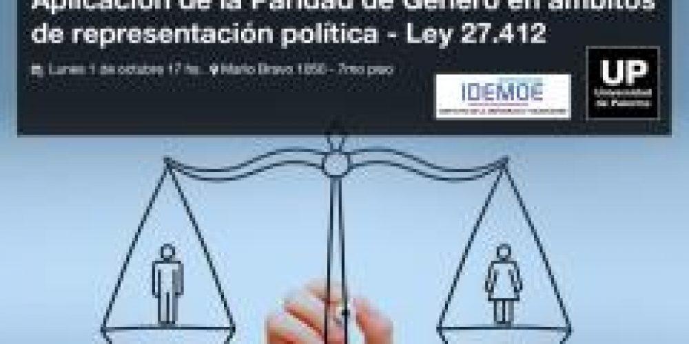 Paridad: Mesa de Diálogo sobre aplicación de la Ley
