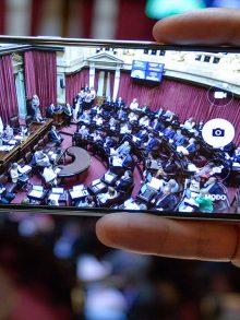 Informe IDEMOE: El Congreso Nacional en las redes sociales.