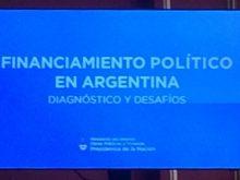 IDEMOE participó del Seminario de Financiamiento Político en Casa Rosada