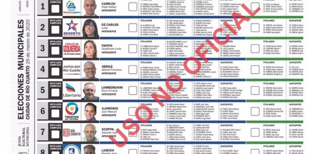 IDEMOE Observará las elecciones en la ciudad de Río Cuarto, Córdoba