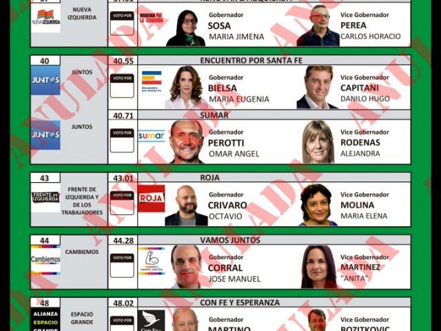 IDEMOE observará las elecciones PASO en Santa Fe