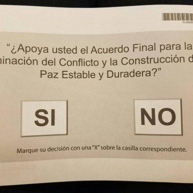 Plebiscito Colombia 2016