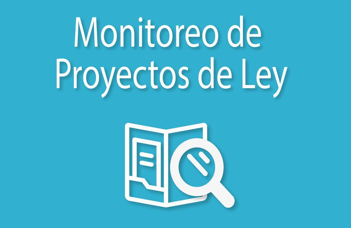 Monitoreo de proyectos de ley por IDEMOE