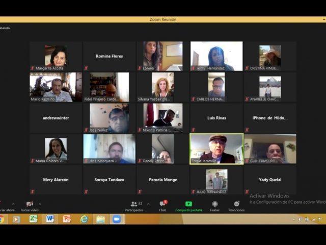 Conversatorio Internacional entre IDEMOE y Ecuador para las observaciones en las elecciones presidenciales en Ecuador