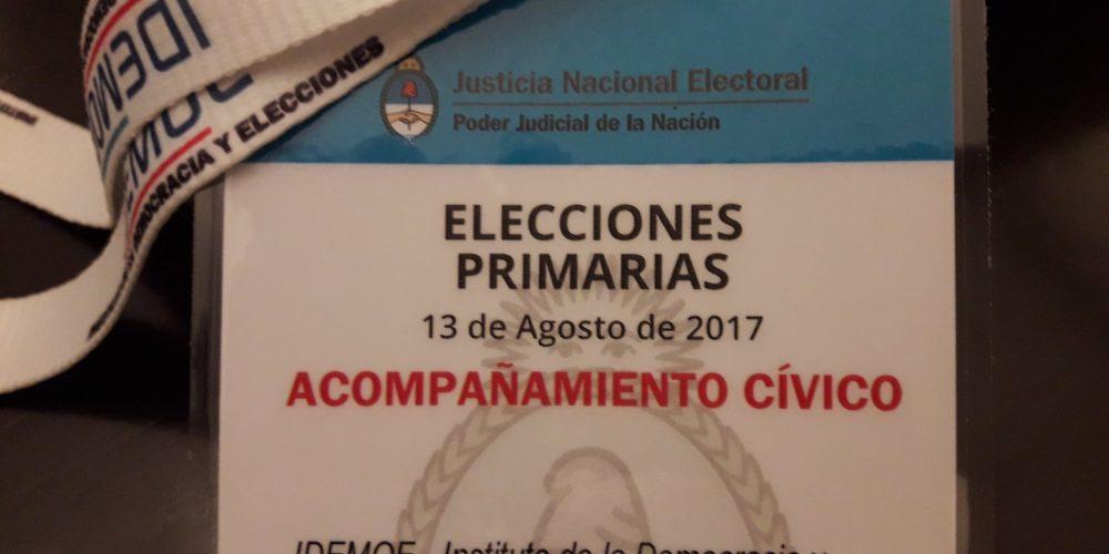 Observaremos las elecciones en todo el país