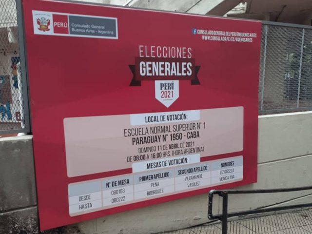 Informe final: Misión de Observación Electoral Internacional -Elecciones Generales Perú 2021- Primera Vuelta